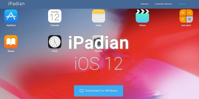 Download iMessage on PC Using iPadian