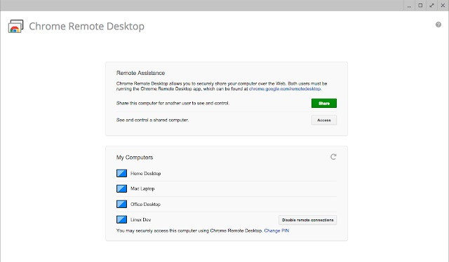 Use iMesage on PC With Chrome Remote Desktop