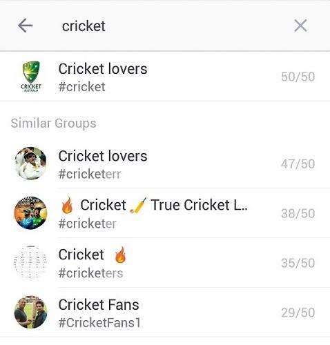 Cricket Kik Chat Rooms
